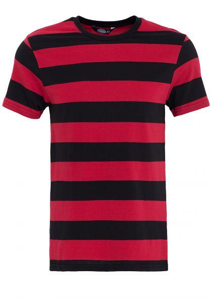 T-Shirt aus Streifenjersey