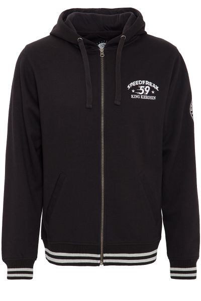 Kapuzenjacke Speedfreak Black