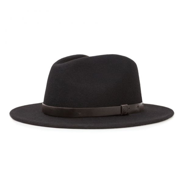 Messer Fedora Hut Black/Black