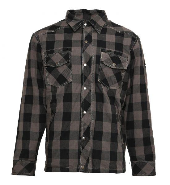 Lumberjack Jacken-Hemd grau/schwarz