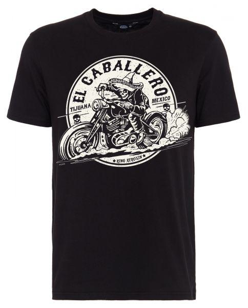 T-Shirt mit Front Print El Caballero