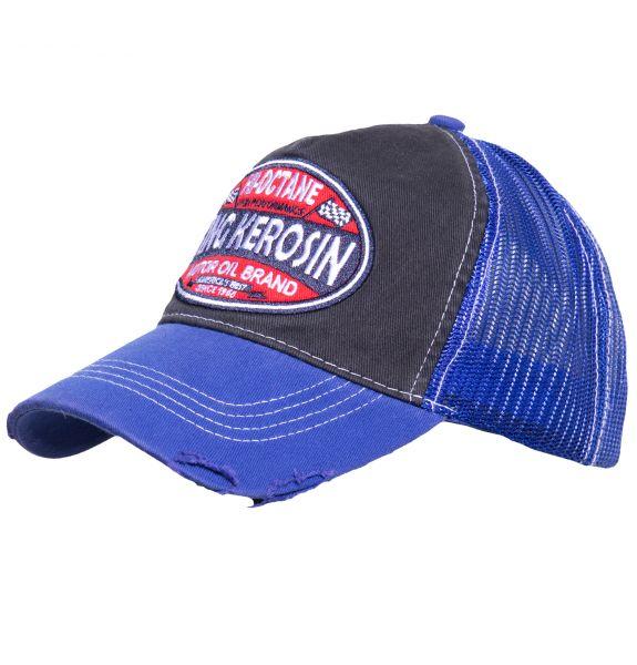 TRUCKER CAP IM USED-LOOK HI-OCTANE