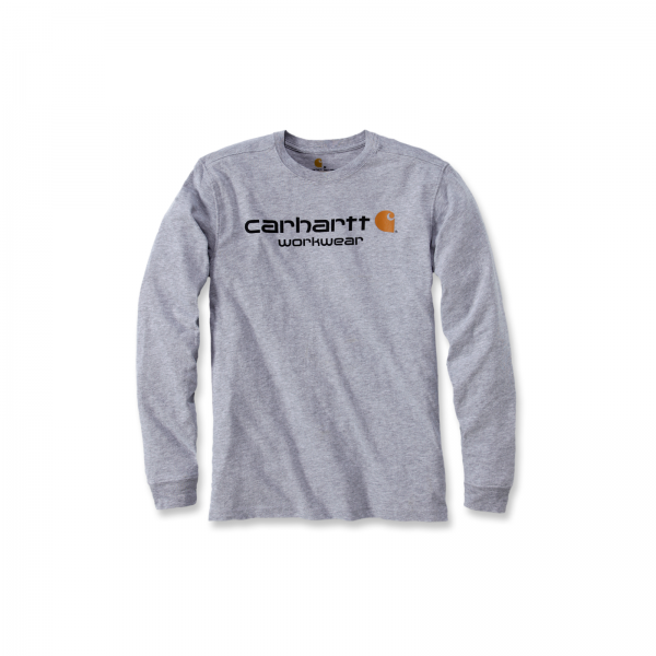 Maddock CORE LOGO LONG-SLEEVE T-SHIRT heather grey