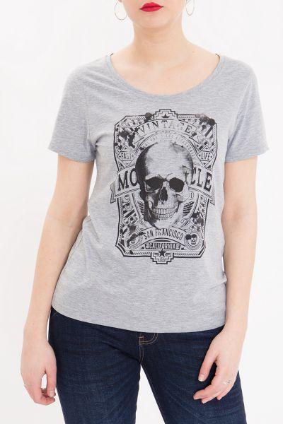 Basic Shirt Vintage Skull