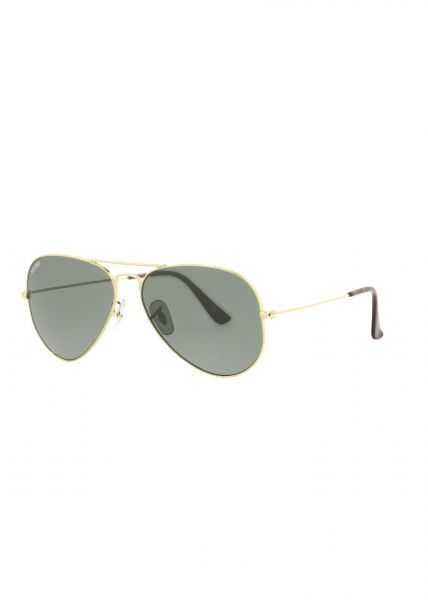 Brille Aviator shiny gold