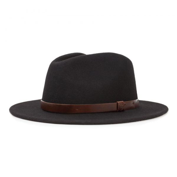 Messer Fedora Hut Black