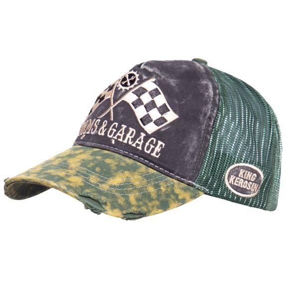 TRUCKER CAP IM USED-LOOK KUSTOMS & GARAGE