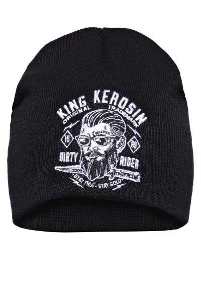 Mütze Dirty Rider black
