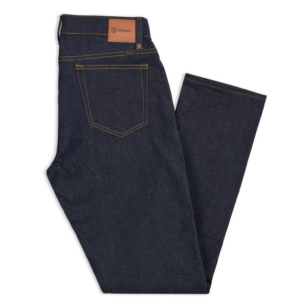 RESERVE 5-POCKET DENIM PANT RAW INDIGO