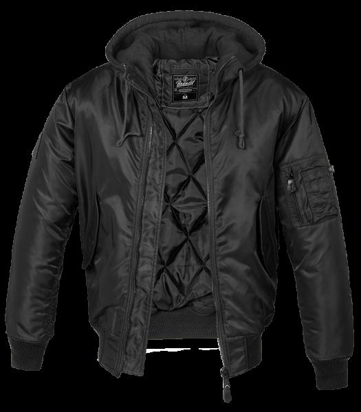 MA1 Sweat Hooded Jacket black