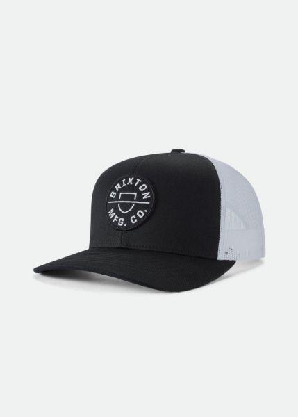 Crest MP Mesh Trucker Cap schwarz