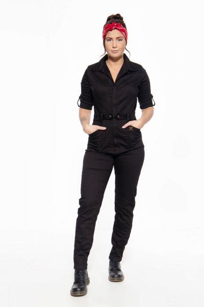 Vintage Jeans Overall schwarz