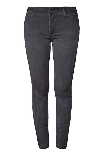 Damen Workwear Hose - steel grey oil washed