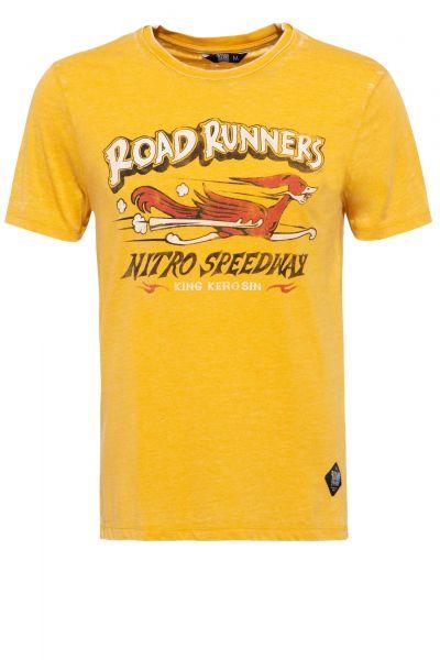 Herren T-Shirt Roadrunner yellow