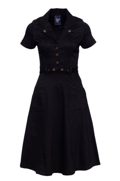 Vintage Swingkleid schwarz