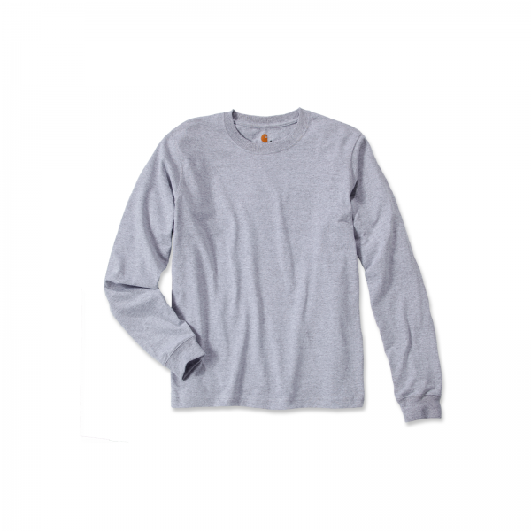 SIGNATURE SLEEVE LOGO LONG-SLEEVE HEATHER GREY