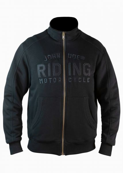Mens Stand Up Neck Jacket Riding black