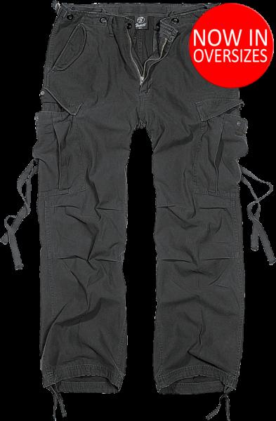 M-65 Vintage Trousers schwarz