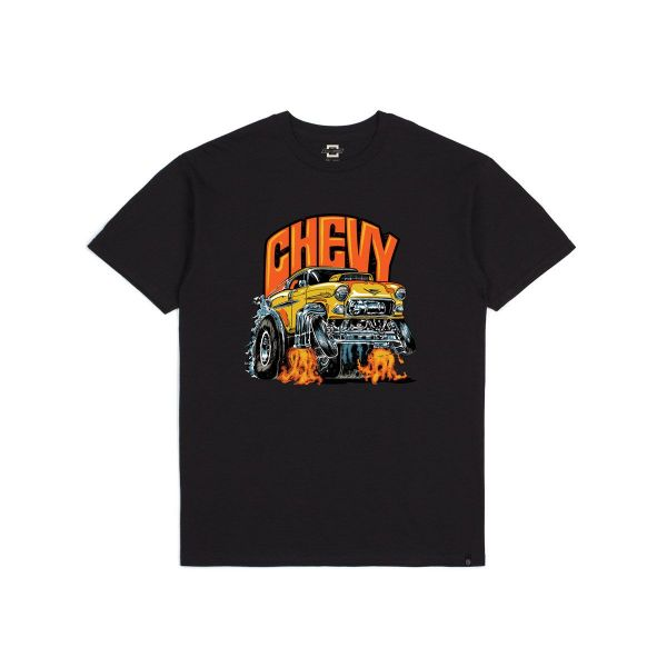 55 HEAVY S/S STANDARD TEE - BEL AIR BLACK