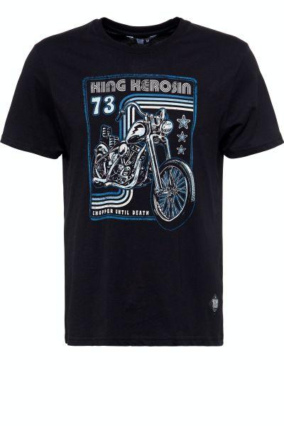 Herren T-Shirt Chopper until Death black