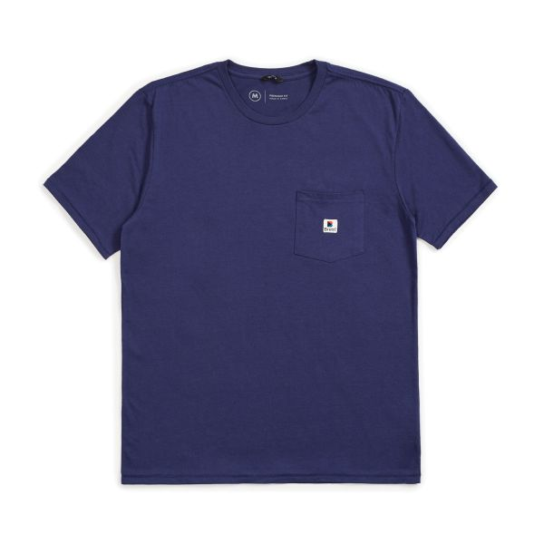 STOWELL S/S POCKET PATRIOT BLUE