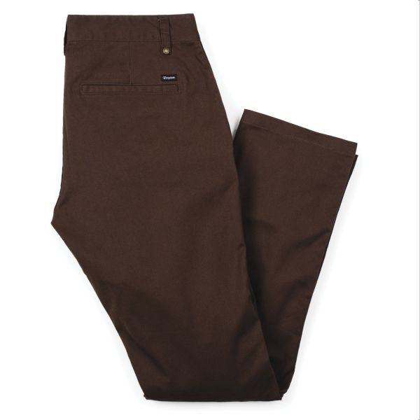 RESERVE CHINO PANT BROWN
