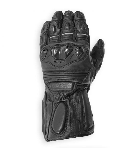 RIDER, wasserdichter Motorrad-Sommerhandschuhe schwarz