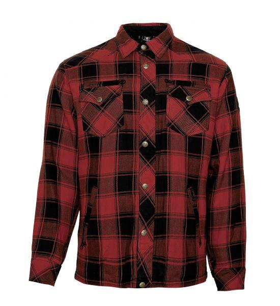 Lumberjack Jacken-Hemd dunkelrot/schwarz