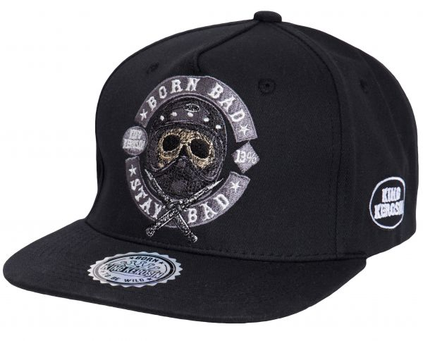 Cap Born Bad Stay Bad - Black