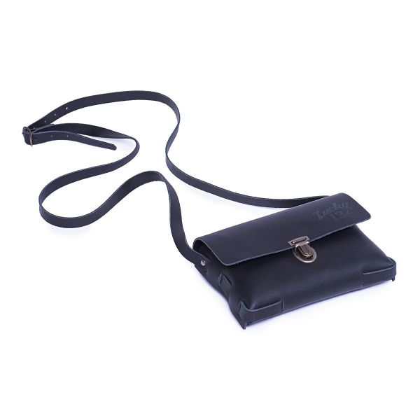 LADIES LEATHER FESTIVAL Tasche schwarz