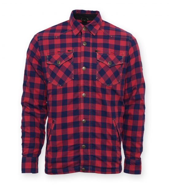 Lumberjack Jacken-Hemd rot/blau