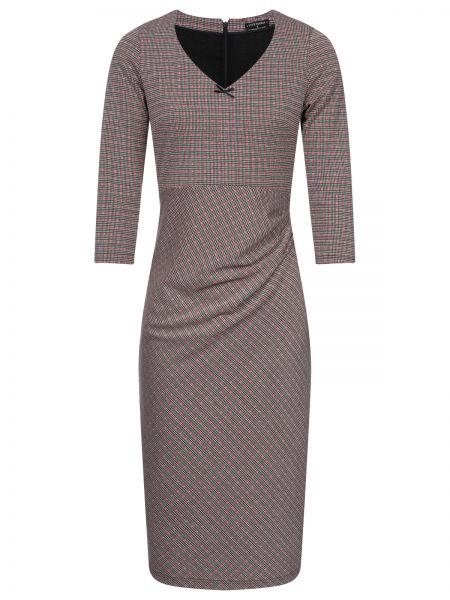 British Afternoon Kleid schwarz allover