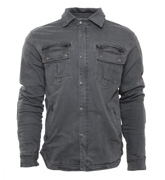 Driver-Shirt grau Stretch
