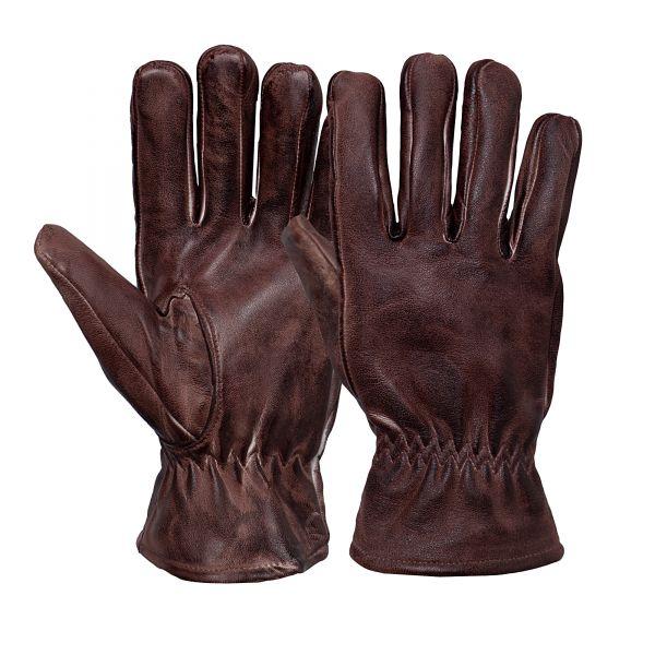 Herren Biker-Handschuhe Faded Brown
