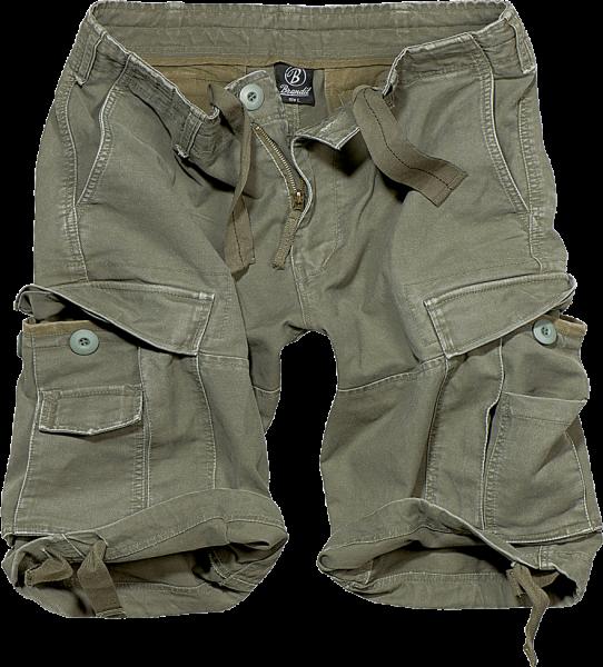 Vintage Classic Shorts oliv