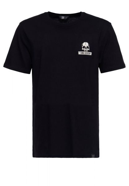 Herren T-Shirt Dont treat me wrong black