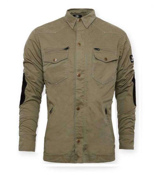Damen Military-Jacke olive