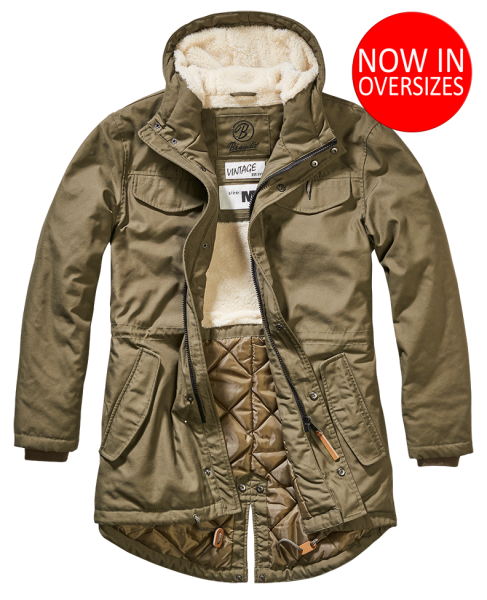 Marsh Lake Parka oliv
