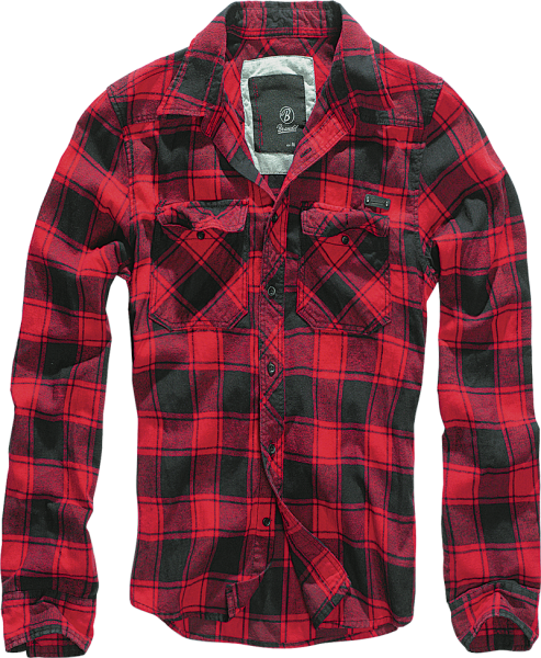 Check Shirt red-black