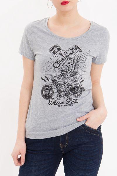 Melange Shirt Drive Fast