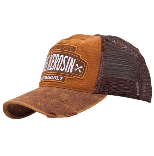 Herren Vintage Trucker Cap brown