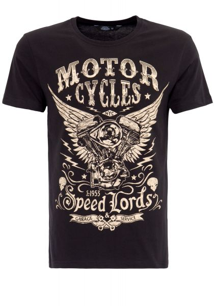 T-Shirt mit Front Print Motor Cycles