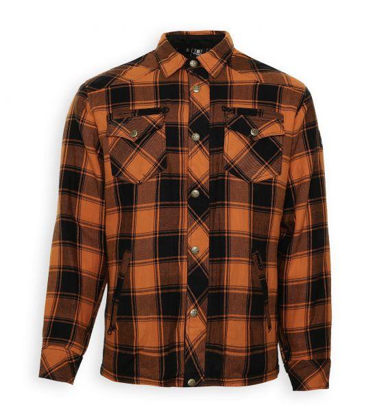 Lumberjack Jacken-Hemd orange/schwarz