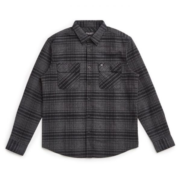 BOWERY CHEVY L/S FLANNEL - BEL AIR BLACK